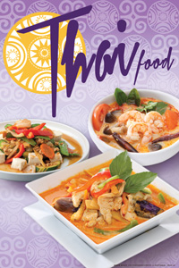 Fongs printing full color chinese japanese thai for Asian cuisine indian and thai food page